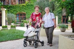 Gemeinsame Aktivitäten im Seniorenbesuchsdienst KlingelZeichen