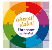 Logo überall dabei Ehrenamt barrierfrei