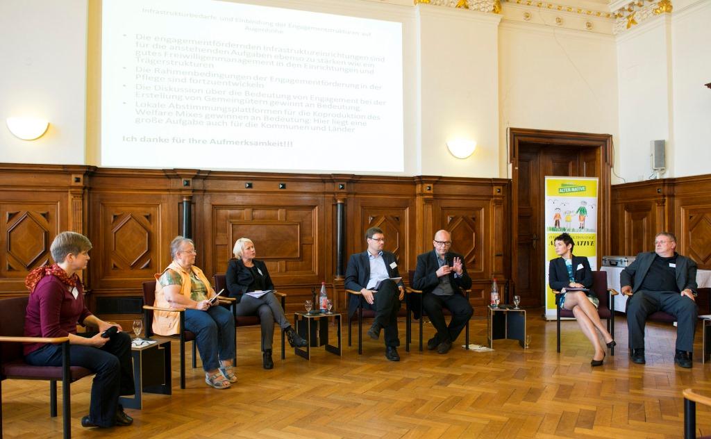Fachtagung Ehrenamt und Pflege - Foto Falk Wenzel_1
