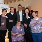 Verleihung MitmenscPreisverleihung Mitmenschpreis 8.10.2014 - Foto Nils Bornemannhpreis am 8.10.2014_Sulamith Fenkl-Ebert, Annett Melzer, Olaf Ebert, Silke Waßewitz, Annett Krug