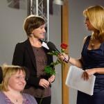 Annett Melzer, Sulamith Fenkl-Ebert beim MitMenschPreis 2014_Foto Nils Bornemann