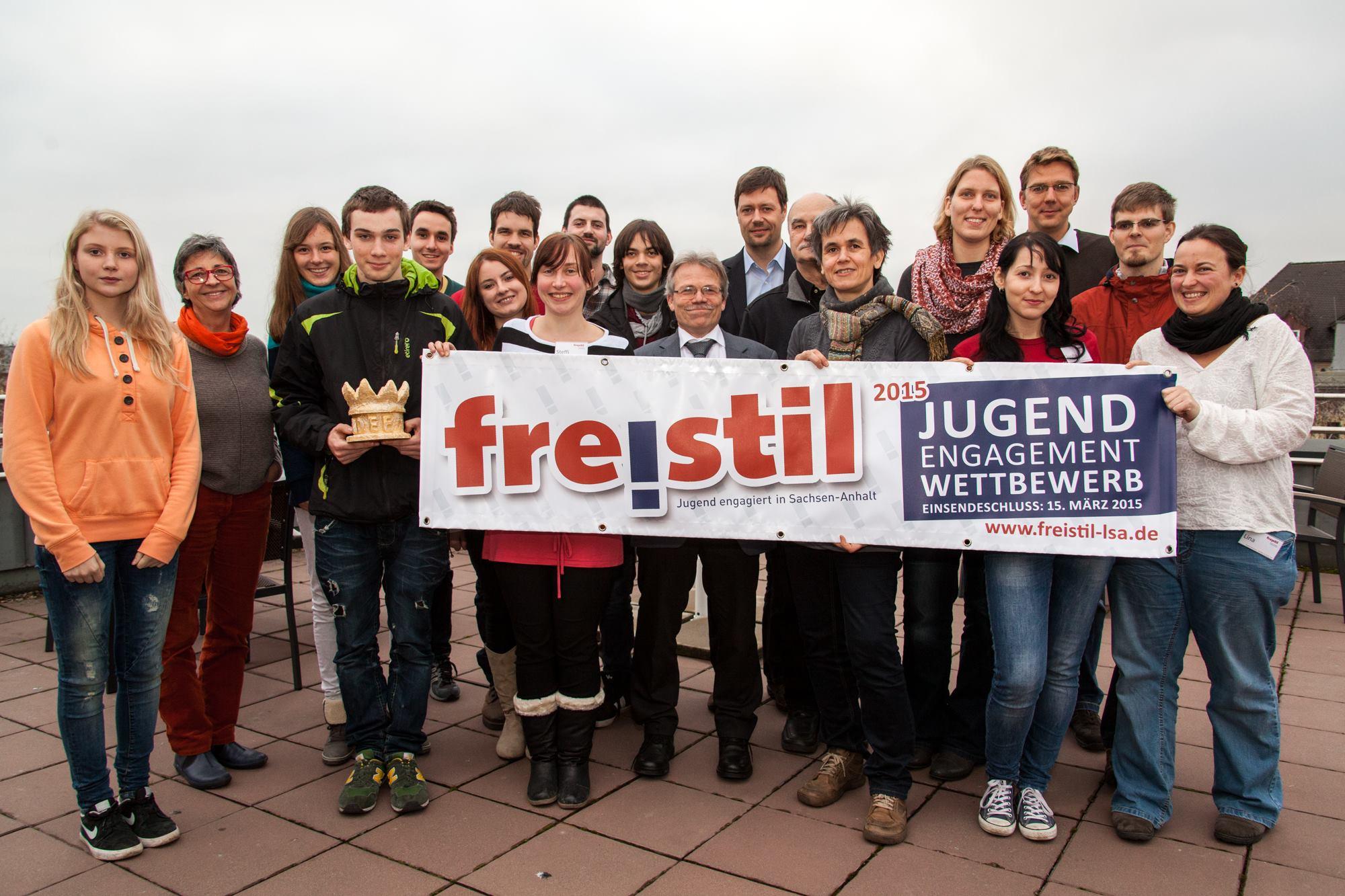 Eröffnung 12. freistil - Wettbewerb 2014/15