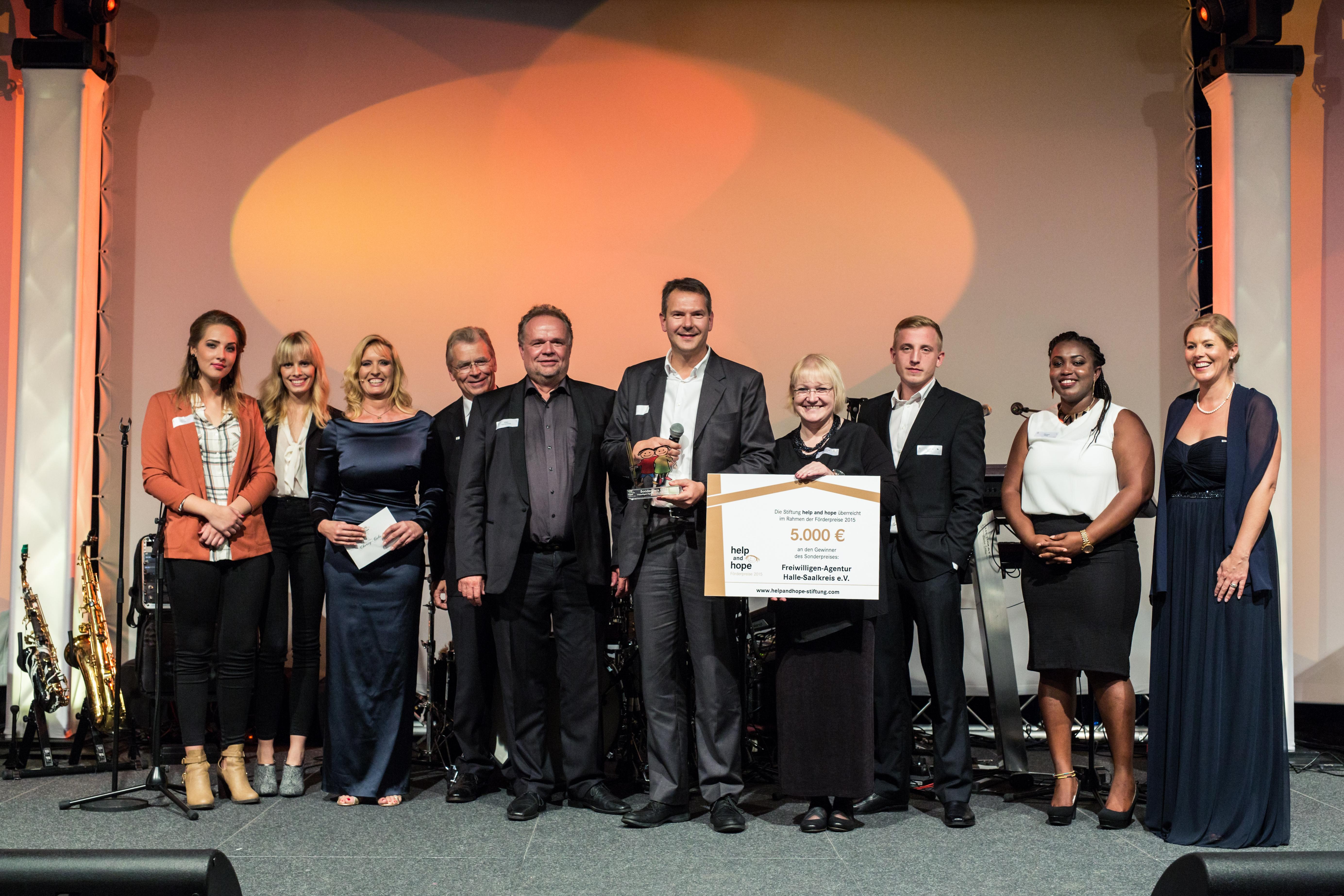 Die Freiwillige-Agentur Halle-Saalkreis gewinnt den Sonderpreis