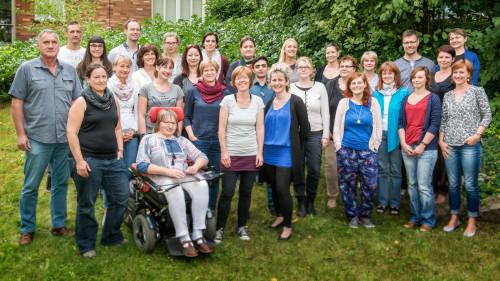 Team der Freiwilligen-Agentur 2016