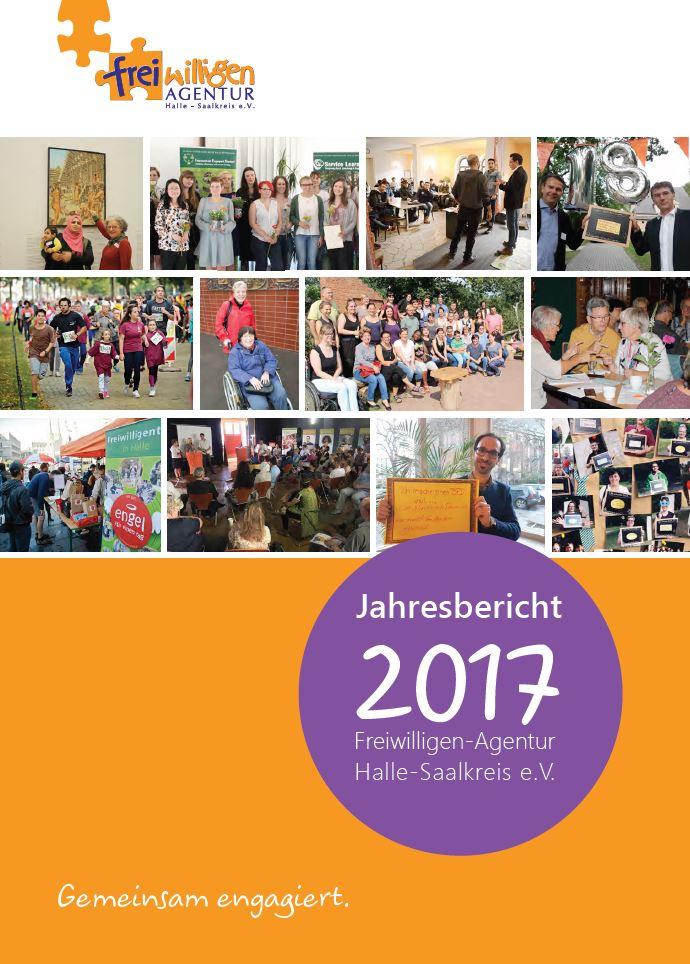 Deckblatt Jahresbericht 2017