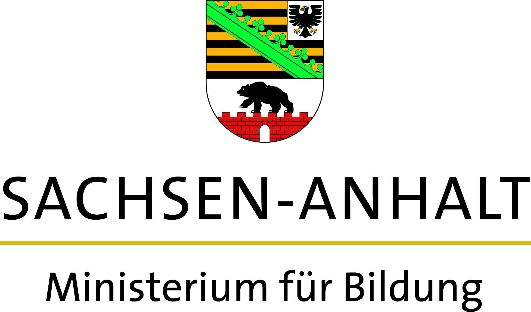 Logo Ministerium Bildung LSA