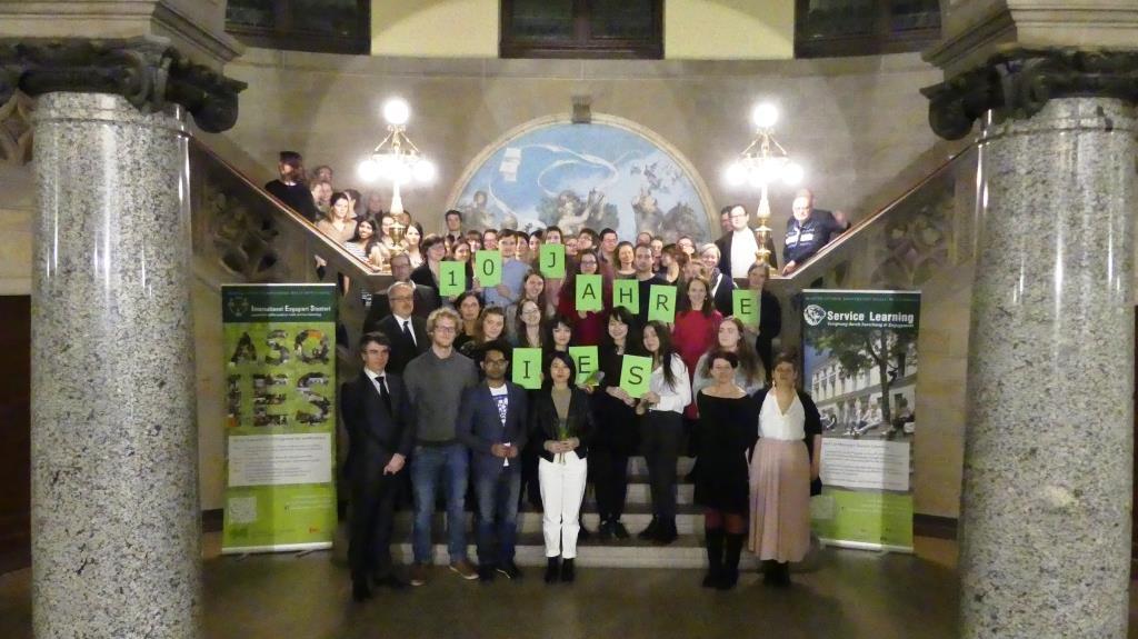 10 Jahre International Engagiert Studiert